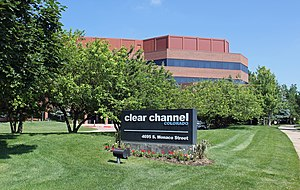 IHeartMedia - Clear Channel Communications' offices and studios in Denver, Colorado