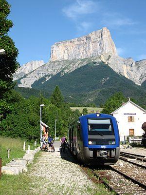 SNCF Class X 73500 - A X73500 at Clelles-Mens