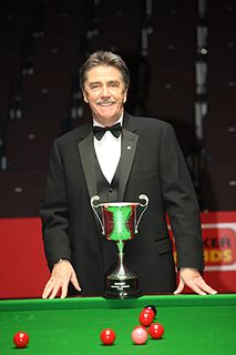 Cliff Thorburn Canadian former professional snooker player, 1980 world champion, 3-time Masters champion
