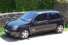 renault clio ii wikip dia. Black Bedroom Furniture Sets. Home Design Ideas