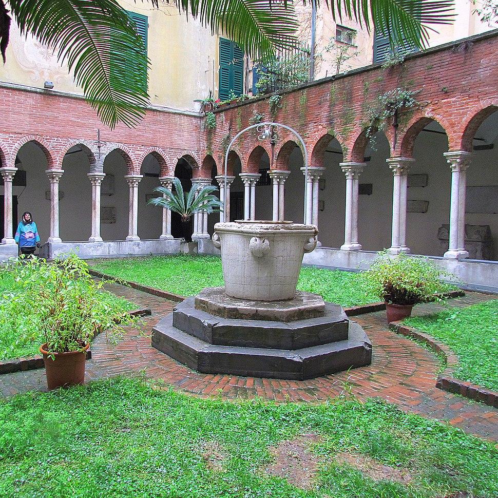 Cloister S. Matteo XIII-XIV cent. Genoa