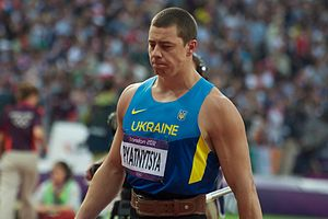 Ukraine at the 2012 Summer Olympics - Oleksandr Pyatnytsya takes home the silver in men's javelin throw.