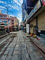 Closed shop due to COVID 19 pandemic in Thahity Thamel, Nepal.jpg