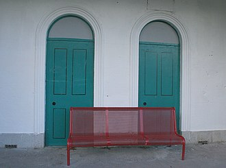 Cloughjordan railway station - Waiting for a train