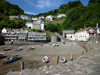 Clovelly Human settlement in England