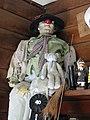 Clown in Snack Bar, Keno City, Yukon (3895436240).jpg