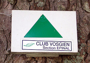 Vosges Club - Waymarking by the Vosges Club