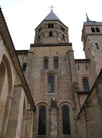 History of education - The Abbey of Cluny was one of the most influential