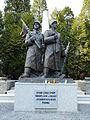 Cmentarz żołnierzy radzieckich Katowice ulice Kościuszki Górnośląska Piękna 11.JPG