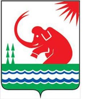 Srednekolymsky District - Image: Coat of Arms of Srednekolymsky District