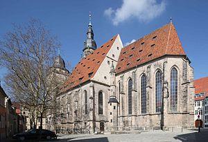 Morizkirche (Coburg) - Eastern Gothic choir