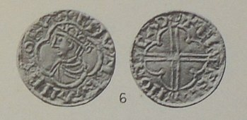 Coin Canute the Great, around 1016