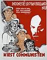 Collectie NMvWereldculturen, TM-3728-1036, Affiche- Affiche van de Communistische Partij Holland (CPH) voor de Tweede-Kamerverkiezingen van 1933, Communistische Partij Nederland, 1933.jpg