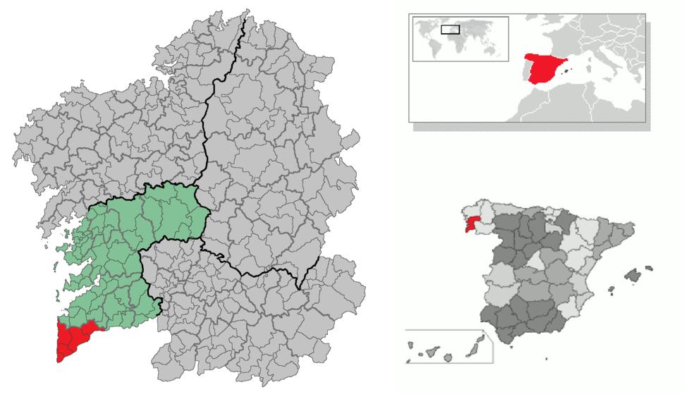 Comarca Baixo Miño
