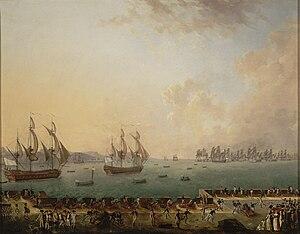 Battle of Martinique (1779) - Image: Combat naval de la Martinique