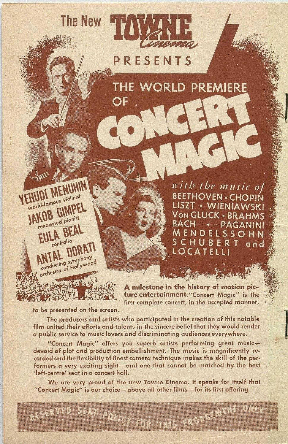 Concert Magic