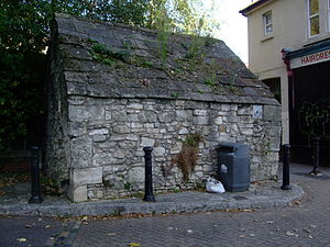 Franciscan Friary, Southampton - Conduit House, a remnant of the medieval water supply system devised by the friars.