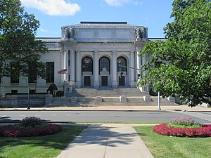 Connecticut State Library - Image: Connecticut State Library & Supreme Court Building