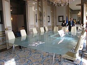 Sala de reuniones del Consejo Constitucional