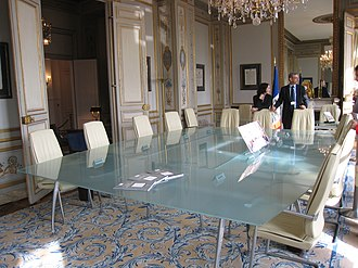 Constitutional Council (France) - Council reunion room