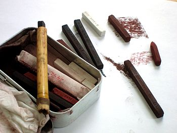 Conté crayon assortment
