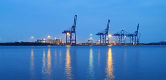 Vallarpadam - The International Container Transshipment Terminal