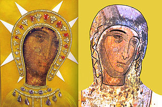 Our Lady of Philermos Marian icon