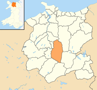 Bro Garmon human settlement in the United Kingdom