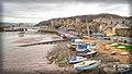 Conwy Harbour, Castle, and the Conway Bridges, Gwynedd, North-west Wales - Flickr - rickmassey1.jpg