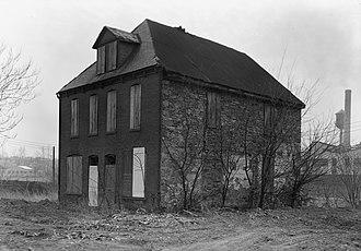 Cookes House - Cookes House, November 1962