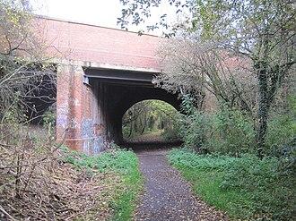 Copthall Railway Walk and Copthall Old Common - Bridge over Copthall Railway Walk