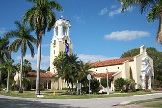 Coral Gables Congregational Church - Image: Coral Gables Congregational Church