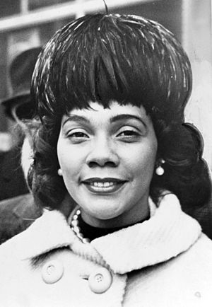 Coretta Scott King - King in 1964