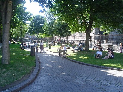 How to get to Bishop Lucey Park with public transit - About the place