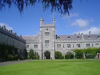 Cork–Limerick–Galway corridor - University College Cork