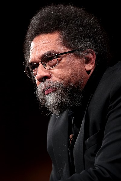 Cornel West, African-American philosopher and political/civil rights activist