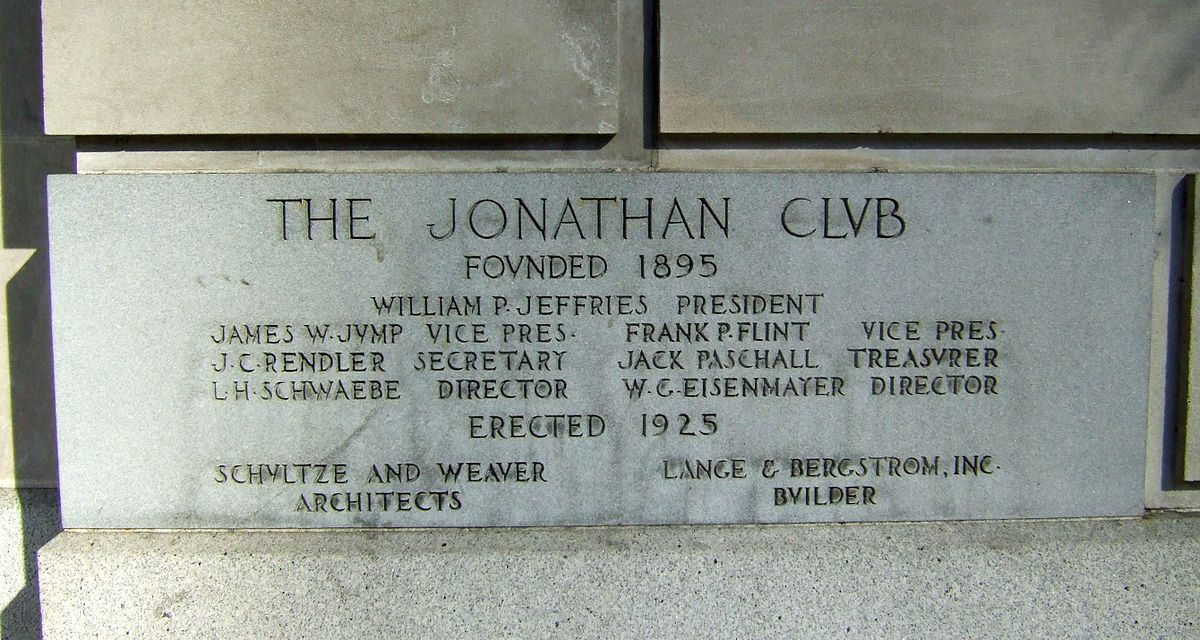 Jonathan Club Wikipedia