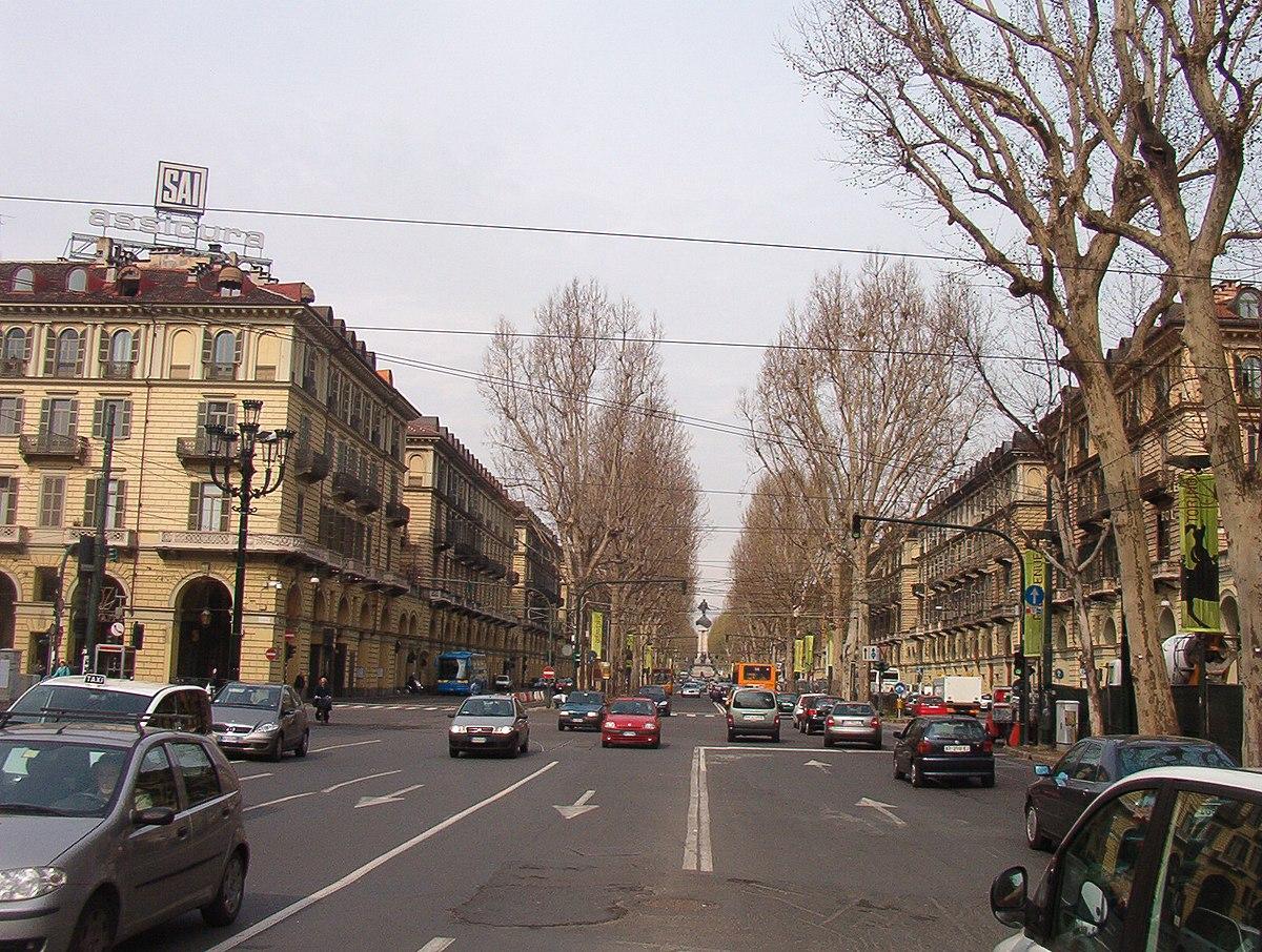 Corso vittorio emanuele ii torino wikipedia for Corso arredatore d interni torino