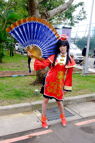 File:Cosplayer of Da Qiao, Dynasty Warriors 7 at CWT41 20151212.jpg