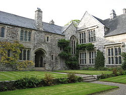 Cotehele, house from courtyard.jpg