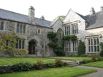 Cotehele - Courtyard of Cotehele House
