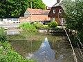 Cottage at Bernard's Ford on the River Lambourn, Eastbury, Berkshire.jpg