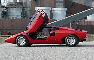 Marcello Gandini - Lamborghini Countach LP400