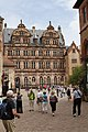 Courtyard facade of Friedrichsbau - Heidelberg Castle - Heidelberg - Germany 2017 (4).jpg
