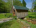 Covered Bridge in a Yard. (5677627330).jpg
