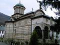 Cozia Monastery on Olt river.jpg