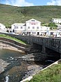 Crackington Haven, road bridge and pub - geograph.org.uk - 1466128.jpg