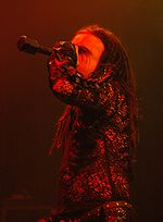 Dani Filth, chanteur de Cradle of Filth