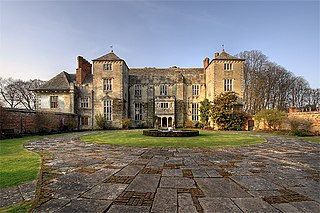 Cranborne Manor Grade I listed English country house in East Dorset, United Kingdom