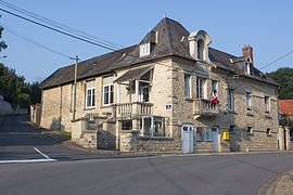 The town hall of Craonnelle
